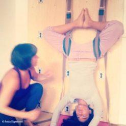 Yogawall - Yoga an der Wand