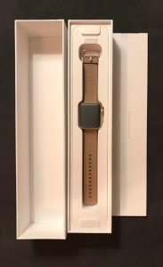 Unboxing Apple Watch 2