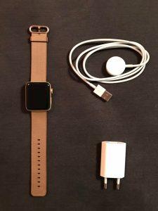 Verpackungsinhalt Apple Watch 2