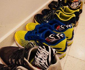 Dreimal Schuhe mit SmellWell