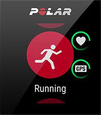 Polar-App; Bild-Quelle: Polar