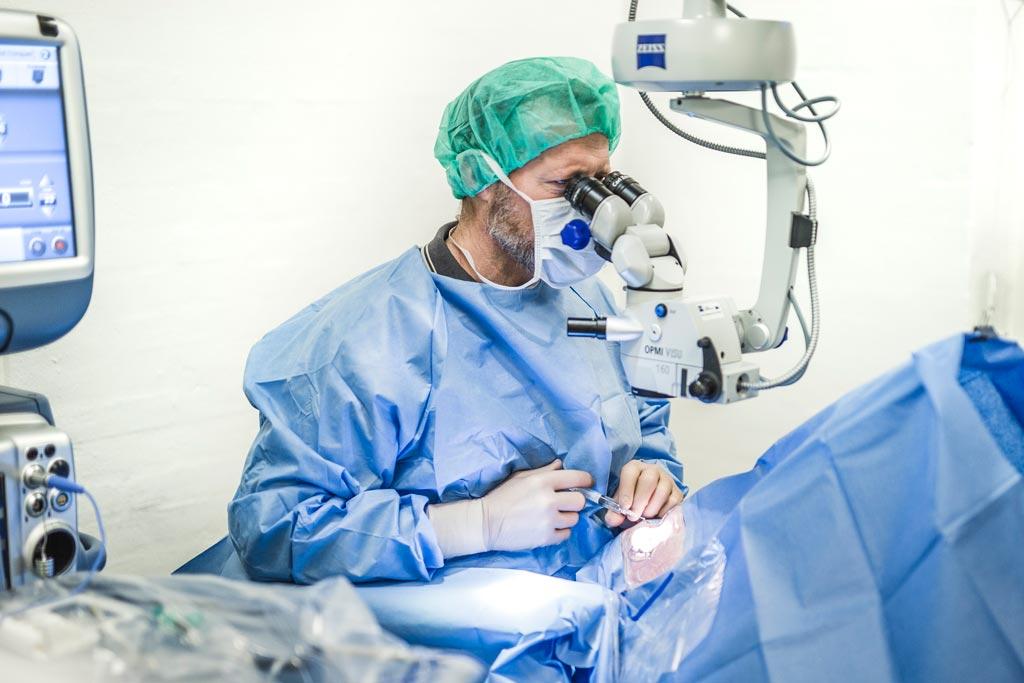 Foto i lægeklinik