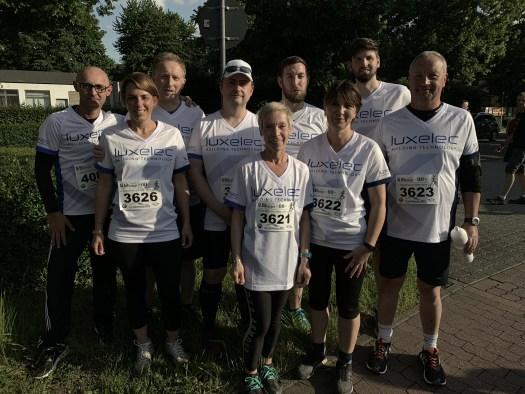 Das Luxelec Lauf Team 2019
