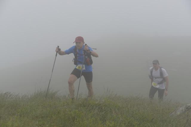 Im dichten Nebel auf den Gazzirola