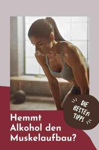 Hemmt Alkohol den Muskelaufbau? Das solltest du über die Regeneration nach dem Sport bei Wein, Bier und co wissen!
