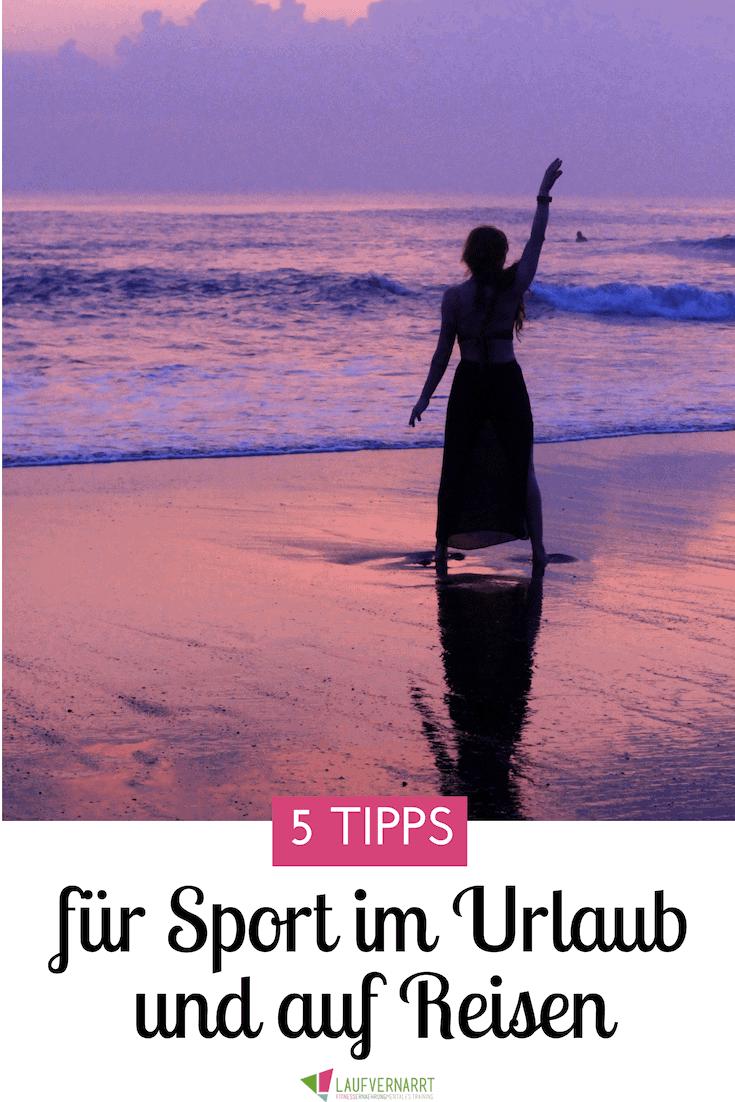 Du bist viel auf Reisen, im Urlaub und möchtest trotzdem unterwegs fit bleiben? Hier gibt es meine besten Tipps dafür.