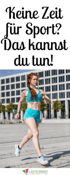 Keine Zeit für Sport? Hier findest du die besten Tricks für Vielbeschäftigte Menschen - so wirst du auch mit wenig Zeit endlich fit und investierst in deine Gesundheit!