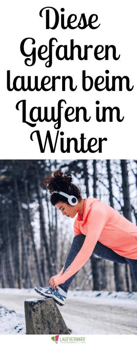 Laufen im Winter - so läufst du sicher bei Kälte und Dunkelheit. Die besten Tipps für Sport während der kalten Jahreszeit. #laufen #winter #dunkelheit #sicher