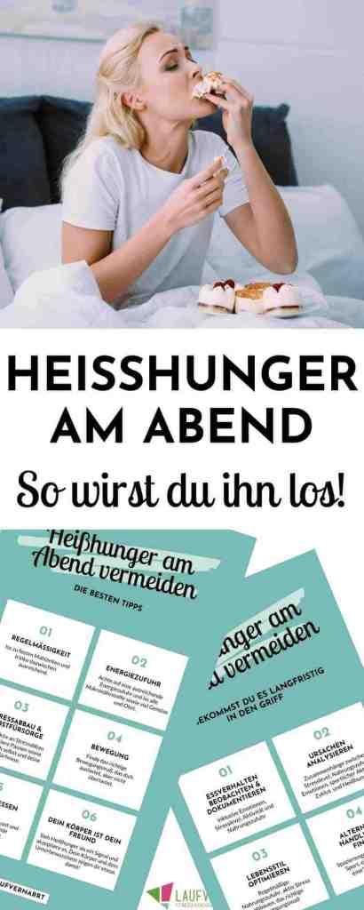 Leidest du unter #Heißhunger am Abend? Dann erhältst du hier die besten Tipps, wie du ihn vermeiden kannst und abendliche #Fressattacken verhinderst. #ernährung #diät #abnehmen