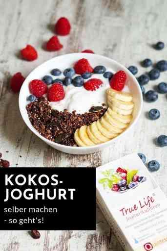Selbstgerechter #Kokosjoghurt zum #Frühstück - ein leckeres und schnelles #Rezept (#vegan, #glutenfrei, #gesund)