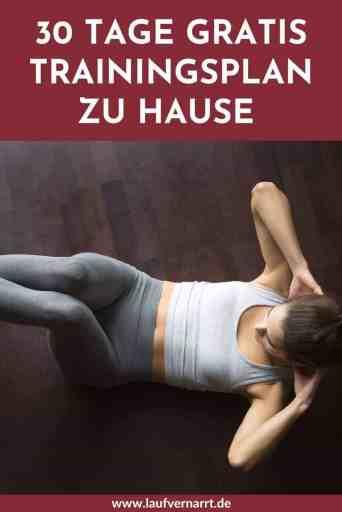 #Muskelaufbau und #Training fürs #Abnehmen von zuhause? Kein Problem mit diesem #Trainingsplan ohne Equipment. #30 #Tage #Fitnesschallenge #zuhause