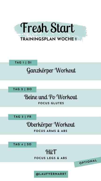 #Trainingsplan für #zuhause für #Frauen - #Muskelaufbau, #Abnehmen, allgemeine #Fitness und #Fettabbau - Woche 1