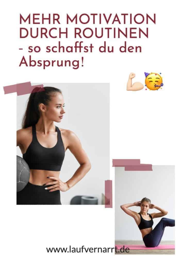 Mehr #Motivation durch #Routinen - so schaffst du den Absprung zu #gesunden #Gewohnheiten und mehr #Energie!