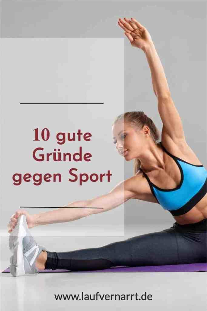 Warum eigentlich #Training oder besser gefragt: Warum eigentlich KEIN TRAINING? Hier kommen 10 gute #Gründe gegen #Sport.