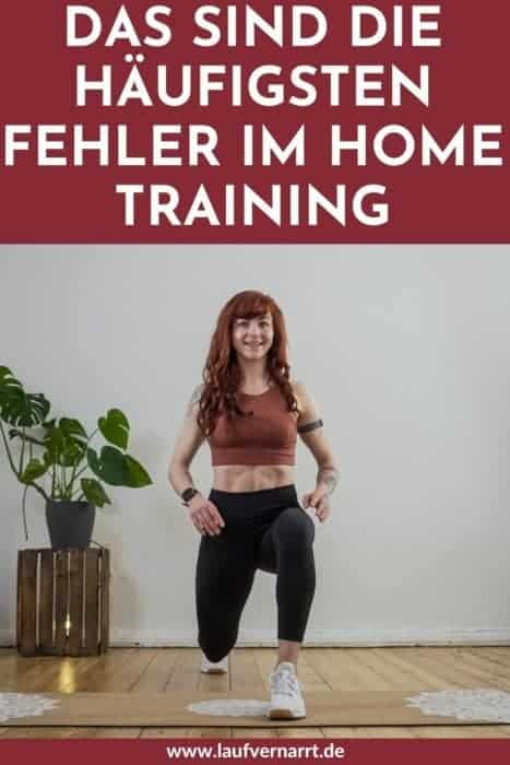 #Home #Workouts sind super und bringen unheimlich viel Spaß! Doch leider gibt es sehr häufige #Fehler im #Home #Training - hier erfährst du sie und wie du sie verhinderst.