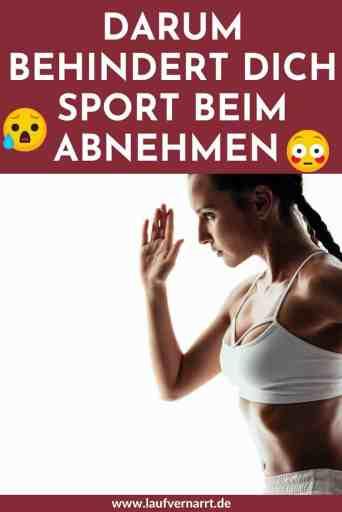 Kann #Sport dich beim #Abnehmen behindern? So stört #Training deinen #Gewichtsverlust - vermeide diese häufigen #Fehler!