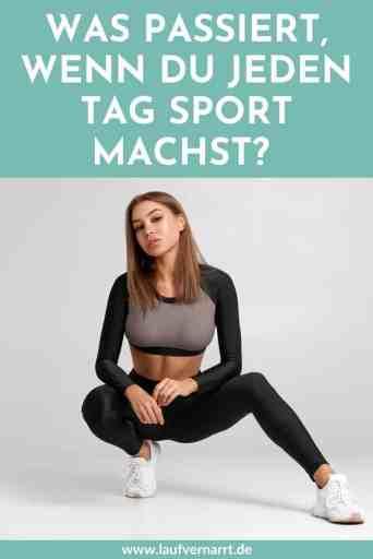 Was passiert, wenn du #täglich #Workouts machst? Hier kommen die Vor- und Nachteile, wenn du jeden Tag #Sport machen willst.