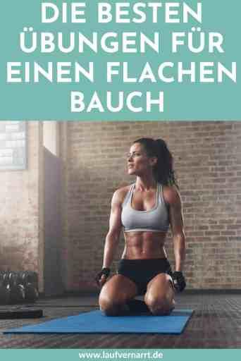 Die besten Übungen für einen flachen Bauch und definierte Bauchmuskeln - so geht's!
