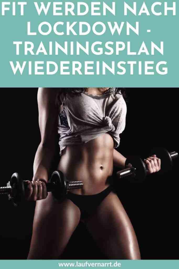 Gratis Krafttraining Trainingsplan - Fit nach Lockdown! Alles über das richtige Training nach langer Pause.