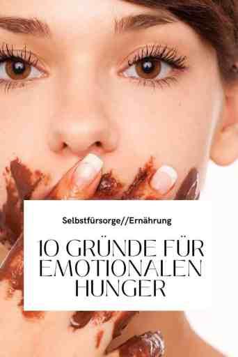 Emotionaler Hunger oder körperlicher Hunger? Wie kannst du sie unterscheiden und was hilft gegen diesen Drang zu Essen? Die besten Tipps, um emotionalen Hunger zu stillen.