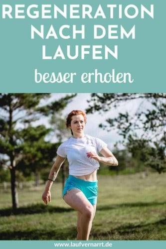 Regeneration nach dem Laufen - was ist das und wie kannst du sie gezielt beeinflussen? So wirst du besser durch gezielte Pausen.