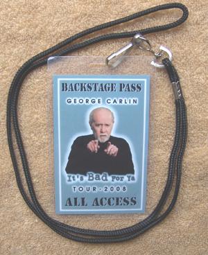 George Carlin Comedy Tour