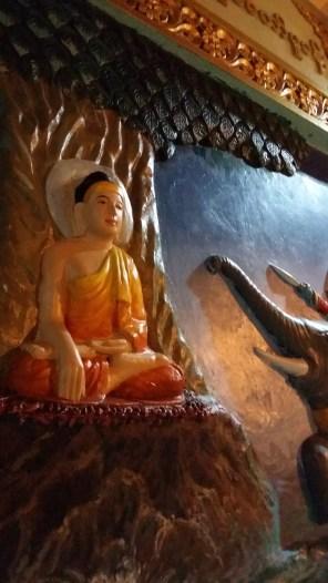 Temple Relief - Yangon