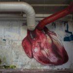 Clever graffiti – heart