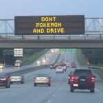 Don't pokemon and drive