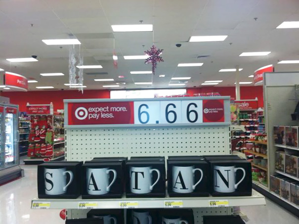 Is Target trying to send you a message...