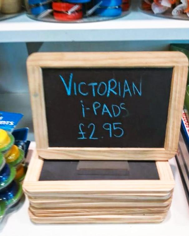 Victorian iPads