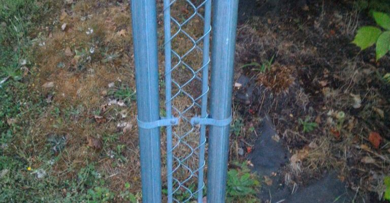 a very very narrow fence