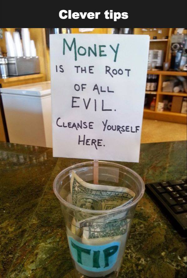 Money is the root of EVIL