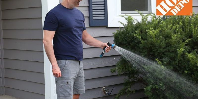 Invisible garden hose
