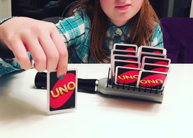 Playing UNO Level Expert