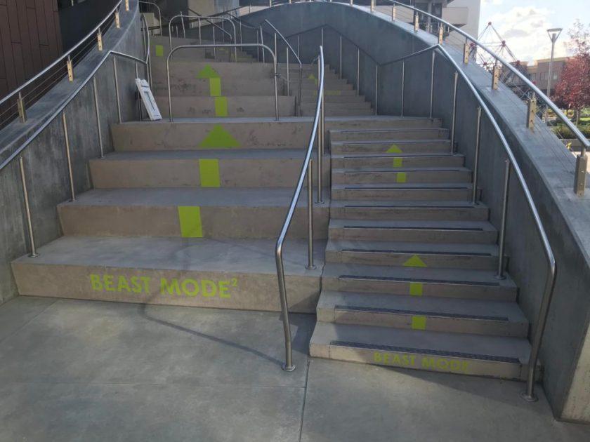 Beast mode stairs