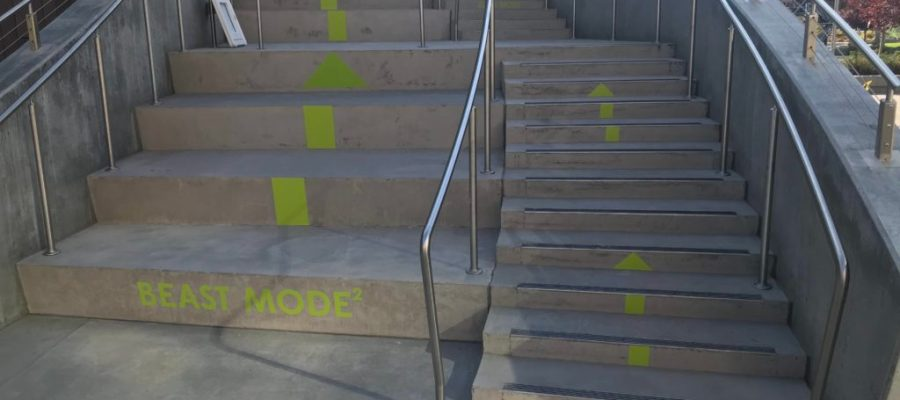 Beast mode stairs