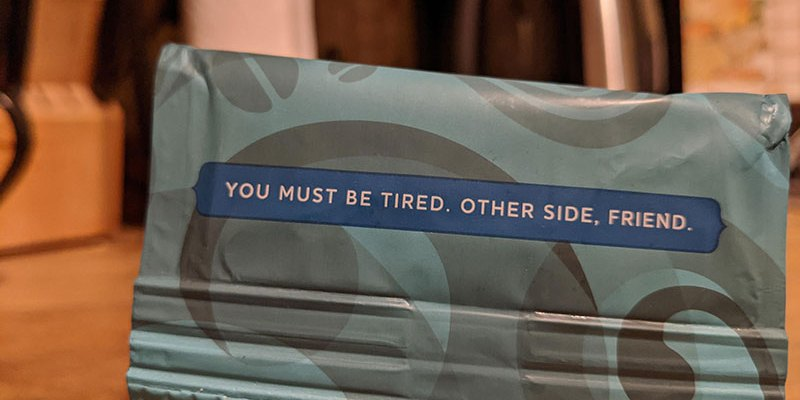 Thoughtful-reminder-from-coffee-packaging