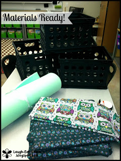 diy crate seats for your classroom