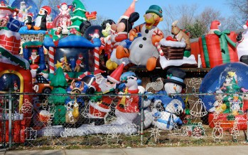 christmas blow ups