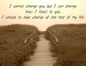 You Can't Change The Narcissist But You Can Change Yourself