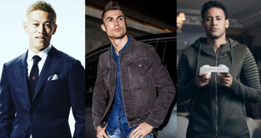10 most Stylish footballers in ongoing FIFA World Cup 2018