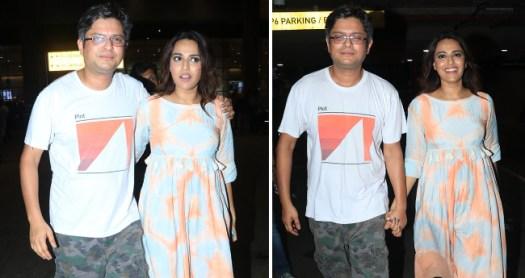 Pics: Swara Bhasker Walking Hand-In-Hand With Beau Himanshu Sharma