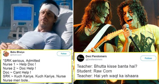 Lol-Worthy Tweets About Bollywood Proves Our Real Lives Are No Less Than Films