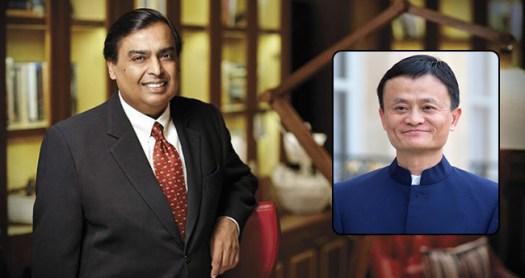Mukesh Ambani becomes Asia's Richest Person with $44.3 billion, defeating Jack Ma