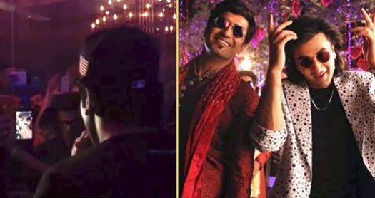Ranbir makes a Video Call to Vicky Kaushal who couldn't attend Sanju's Success Party