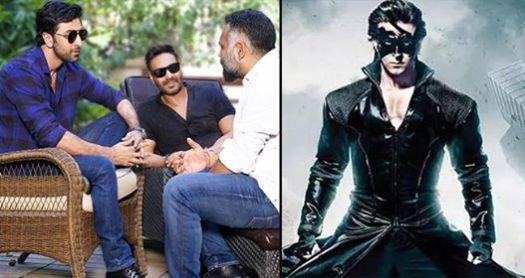 Ranbir Kapoor And Ajay Devgan's Film To Clash With Hrithik Roshan's Krrish 4 On Christmas 2020