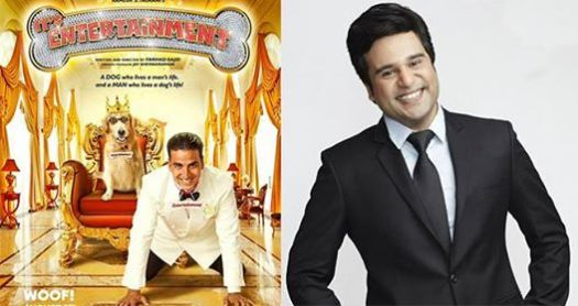 Krushna Abhishek Said He Felt Bad He Was Not In 'Entertainment' Posters But The Dog Was