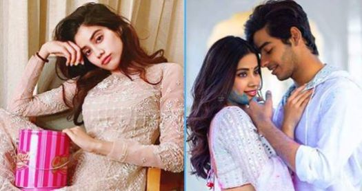 Janhvi Kapoor Said That She Saw Her Mother Sridevi In Place Of Her In A Scene In Dhadak