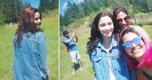 Ranbir Kapoor Photobombs Alia's Picture And She Just Keeps Staring At Him From Camera